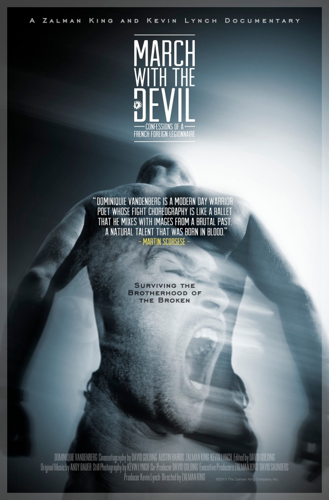 March with the Devil Poster