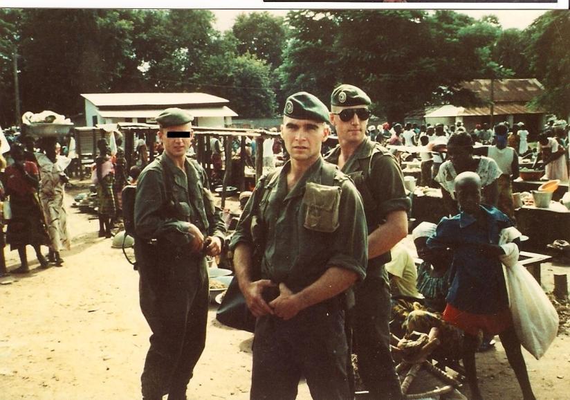 Dominique, etwa 1988 Afrika 4te CIE
