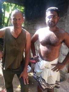 54. Mit einem Freund in Sri Lanka