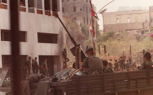 Legionäre mit einer Zwölf Sieben in Beirut