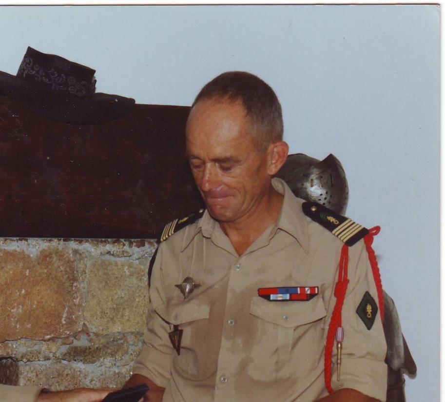 Colonel Coevoet/ chef de corps du 2e REP 1988-1990